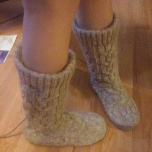 Gap knitted house boots